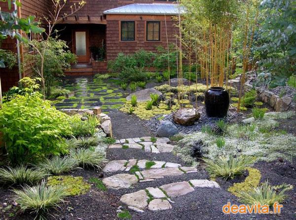 para un jardn con piedras zen es la forma asimtrica en la que se colocan grupos de piedras juntos en conjuntos de o piezas