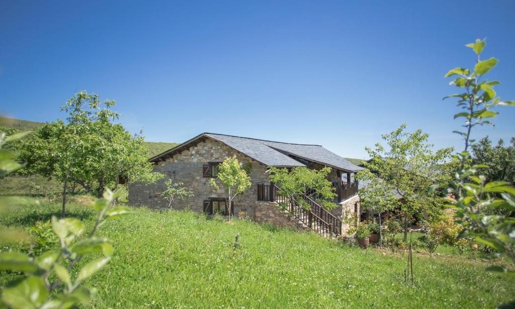Casa Rural con pizarra negra en la zona de las Médulas (Castilla y León)